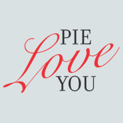 Pie Love You  Design