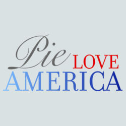 Pie Love America Design