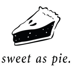 Sweet As Pie Slice Design
