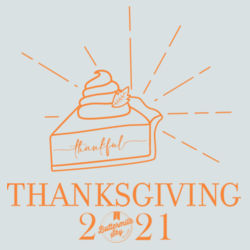 Thanksgiving 2020 DTG  - BSP Ladies Core Cotton V Neck Tee Design
